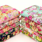 COLOURFUL BOUQUET FLOWER PRINT Cotton Fabric Dress Quilting Crafts YA6 per YARD