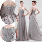 US CHEAP!! Strapless Long Maxi Evening Party Bridesmaids Cocktail Formal Dresses