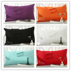 6 Colors Standard European Pillowcases 100%Cotton Decorative Couch Cushion Cover