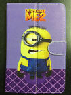 """Despicable me Universal Leather Stand Case Cover 7"""" 7 Inch Tab Android Tablet PC"""