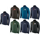 NFL 2015 Mens Game Day Half Zip On Field Knit Top