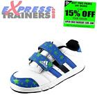 Adidas Infants Kids Toddlers LK 5 Casual Velcro Sports Trainers White*AUTHENTIC*