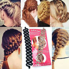 New Women Fashion Hair Styling Clip Stick Bun Maker Braid Tool Hair Accessories
