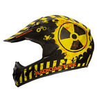"IV2 ""RADIOACTIVE"" High Performance, Motocross, ATV, Dirtbike Helmet - [DOT]"