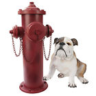 Unique Vintage-Style Fire Hydrant Statue.Crafted of Metal Home Yard Garden Prop