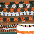 Halloween Paper Garland Hot Decor Ghost Pumpkin For Halloween Props 3M Garland