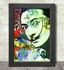 Salvador Dali Poster Print A3+ 13 x 19 in - 33 x 48 cm Psychedelic Design