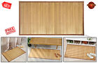 HUGE Natural Bamboo Floor Mat Bathroom Shower Pad Smooth Wooden Spa Decor Home