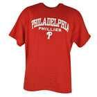 MLB Philadelphia Phillies Tshirt Cup Mug Sets Red Baseball Shirt Tee Cotton Mens on Ebay