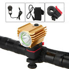 3000Lm CREE T6 LED Head Cycling Bicycle Bike Light Headlamp Torch 6400mAh+Charge