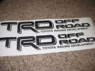 Toyota TRD Off Road side decals X 2 (1 color) Tacoma Tundra