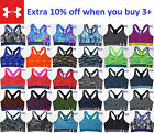*NEW Under Armour Women Mid Printed Sports Bra Top Yoga Gym Fitness XS S M L XL