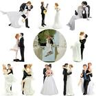 ROMANTIC FUNNY WEDDING CAKE TOPPER FIGURE BRIDE GROOM COUPLE BRIDAL DECORATION