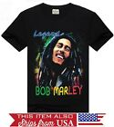 Bob Marley Legend Reggae Graphic T Shirt FAST SHIPPING!!  S M L XL 2XL