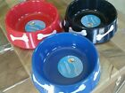10 x 10 Plastic Pet Dog Food Bowl,   Medium To Large Dog!