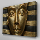 AB568 Egyptian Pharoe Statue Canvas Wall Art Ready to Hang Picture Print