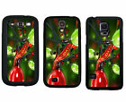 CHRISTMAS RUBBER CASE FOR SAMSUNG S4 S5 S6 EDGE NOTE 3 4 5 CHRISTMAS LIGHTS