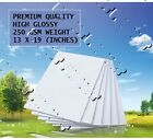 "13"" x 19"" premium quality high gloss photo paper glossy for canon epson hp print"