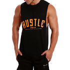 NEW Muscle Gym Singlet Training Racerback Y T BACK Cotton Stringer Tank DC Poly