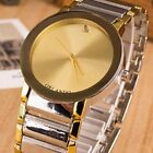 Fashion Women Men's Stainless Steel Analog Quartz Casual Movement Wrist Watch
