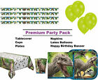 Jurassic World 8-48 Guest Premium Party Pack - Tableware | Banner | Balloons