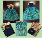 frozen fever - NEW FROZEN INSPIRED FEVER PRINCESS ANNA BIRTHDAY PARTY DRESS US SELLER