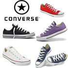 Converse All Star Low Lace Up Pumps Size 12 to 17