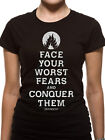 Official Divergent (Face Your Fears) Women's Fitted T-shirt - All sizes
