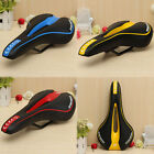 Sport Bicycle Saddle MTB Road Mountain Gel Comfort Bike Seat White/Black Looking