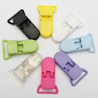 10pcs 25mm Plastic Baby Dummy Clips Pacifier Soother Nipple Bib Holder Suspender