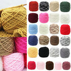 New 200g Smooth Cotton Natural Double Knitting Wool Yarn Ball Baby Woolcraft