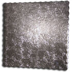 Dessert Buffet Board, Embossed, Square Scalloped Silver - Pack of 25