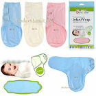 Adjustable Newborn Baby Infant Infan Swaddle Wrap 100% Cotton 7-15 lbs
