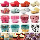 50/100Pcs Paper Cake Cup Cupcake Cases Baking Muffin Dessert Party Wedding