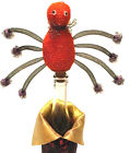 Halloween Spider Bottle Stopper by Ganz Sparkly Spooky Fun Party New