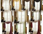 VALANCE SCARF SWAG VOILE SHEER ELEGANT CURTAIN WINDOW DRAPE 35 X 216