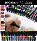 16 COLORS SALLY UV GEL POLISH MANICURE NAIL ART PEN PAINTING DRAWING DESIGN TOOL