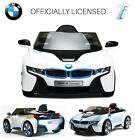 BMW i8 LICENSED 12V KIDS RIDE ON CAR CHILDREN'S BATTERY REMOTE CONTROL CARS