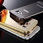 Luxury Stainless Steel Metal Ultra-thin Mirror Case Cover For Samsung Galaxy S6