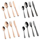 16pc Stainless Steel Cutlery Set 4 Colours Available FREE DELIVERY