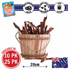 20CM REGULAR BEEF BULLY STICKS NATURAL CHEW SNACK DOG FOOD PUPPY