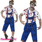 Smiffys Zombie Bavarian Horror German Oktoberfest Costume Halloween Fancy Dress