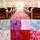1000 Silk Rose Petal Flower Confetti Engagement Celebration Wedding Decoration