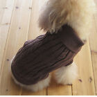 Pet Dog Sweater Puppy Knit Clothes Coat Apparel For Small Medium Dogs + Keychain