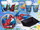 Spiderman The Simpsons Disney Cars Star Wars Party Set Papp Plate Cup Dish $12.63 AUD