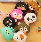 US Animal Cat Silicone Coin Purse Rubber Wallet Bag Case Pouch kawaii cute Japan