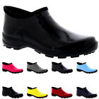 Womens Rubber Gloss Welly Shoes Winter Rain Snow Muck Wellington Boots UK 3-10