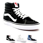Unisex Adults Vans Sk8-Hi Lace Up High Top Canvas Skate Shoes Trainers UK 2.5-13