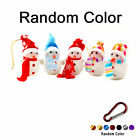 Multi-Color LED Christmas Snowman Ornaments Xmas Tree Hanging Decor + Keychain