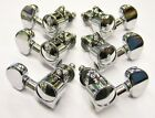 Wilkinson Classic 3-a-side Machines / Tuners (Set of 6) Chrome or Gold